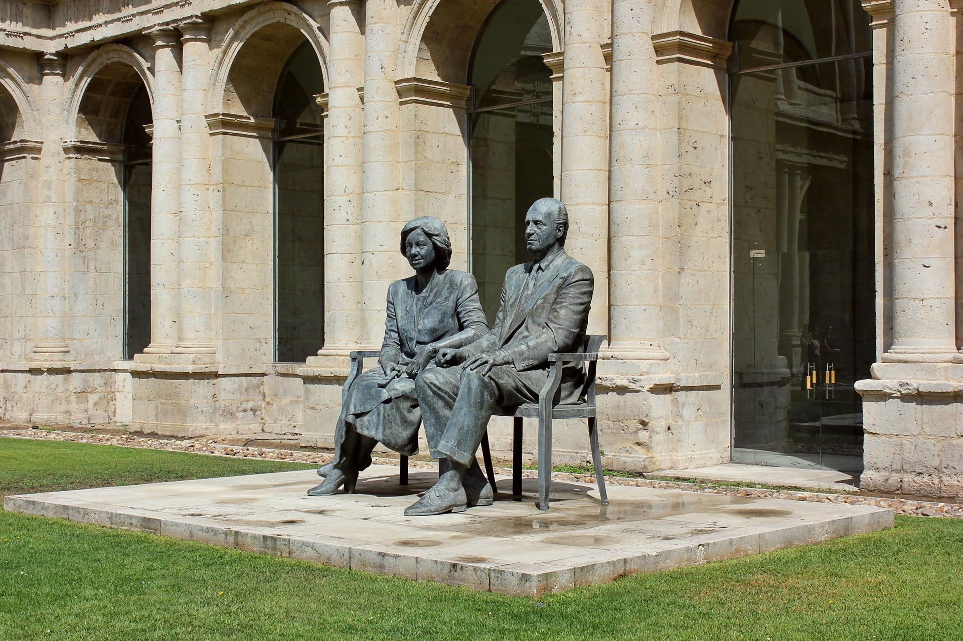 Hispaania kuningapaar Juan Carlos ja Sofia