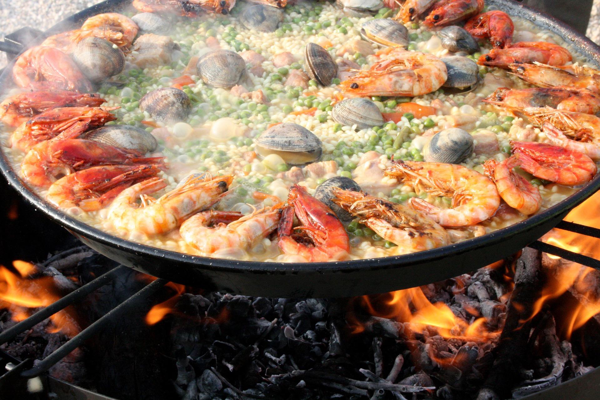 hispaania-paella