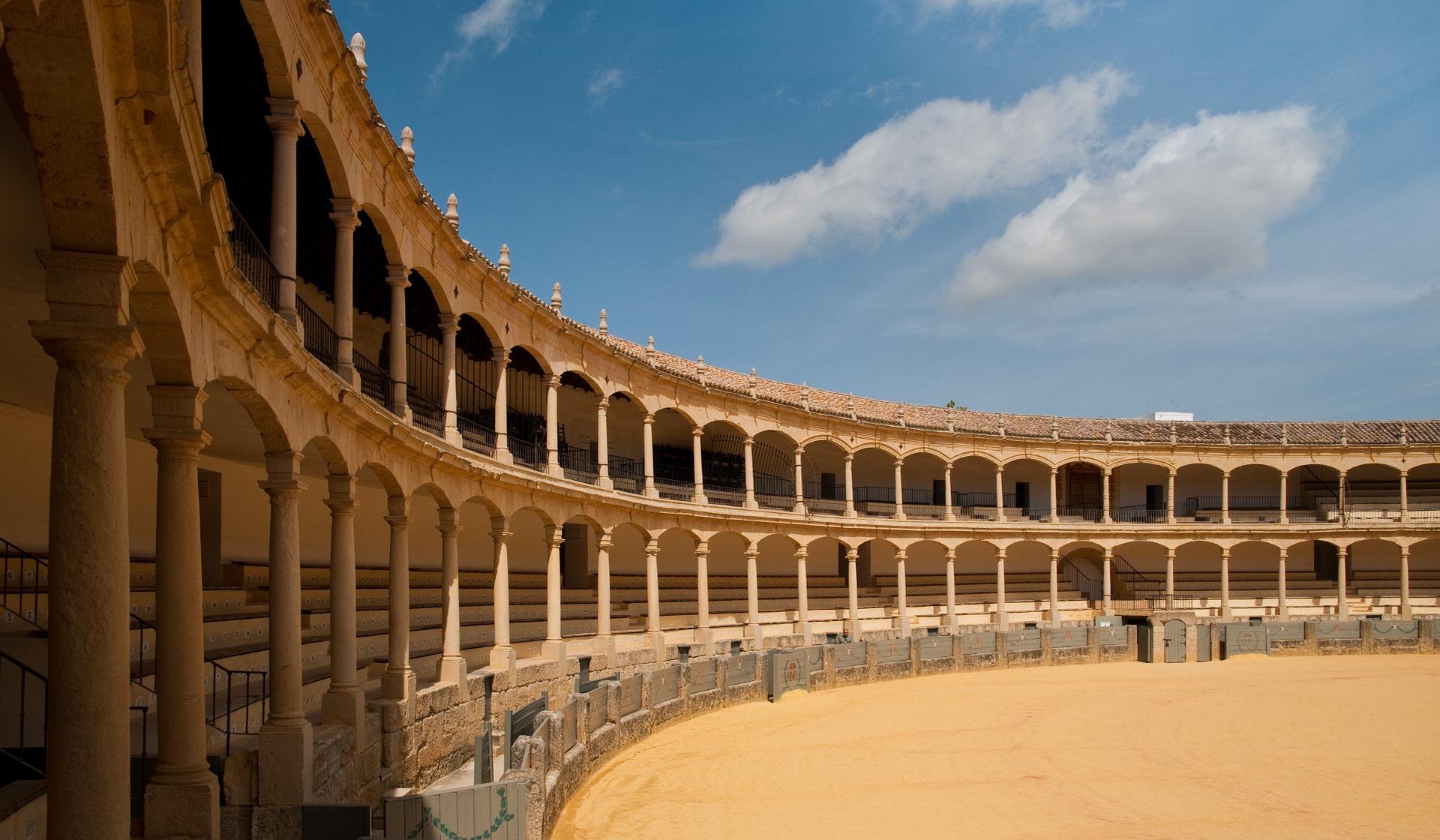 harjavoitluse areen Hispaanias
