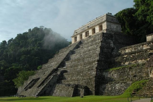 maia püramiid Mehhikos