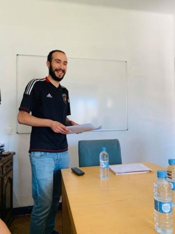 hispaania keele õpetaja Jorge