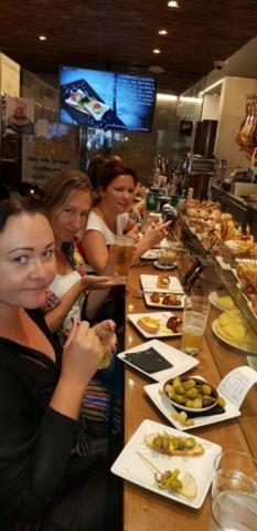 lõunasöök Pamplonas